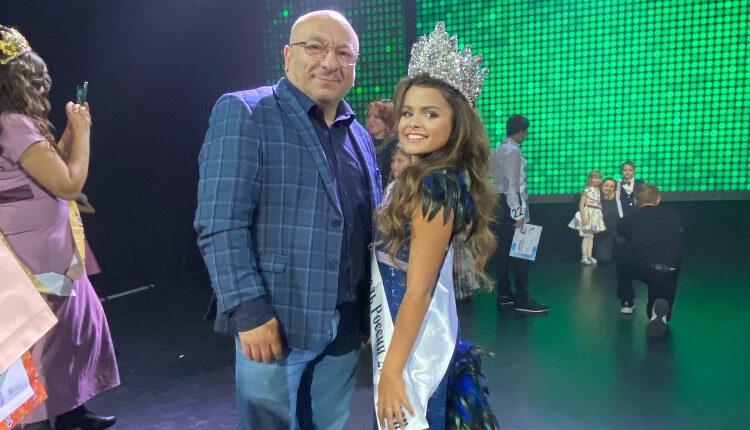 11-летняя девочка из Курска завоевала титул «Юной топ-модели России»